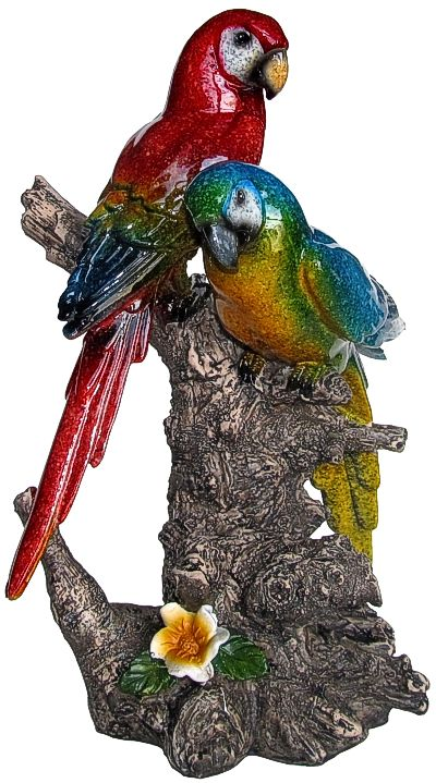 Two Parrots In A Tree
