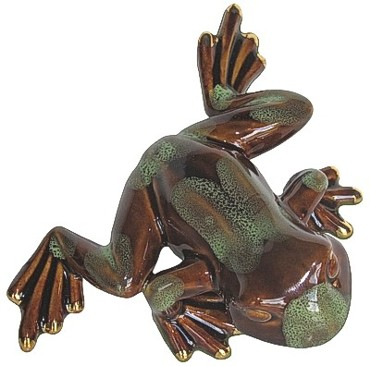 Baby Frog - Brown & Green (B)