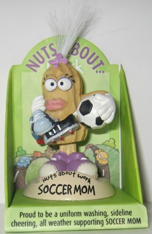 "Nuts About Work ""Soccer Mom"""